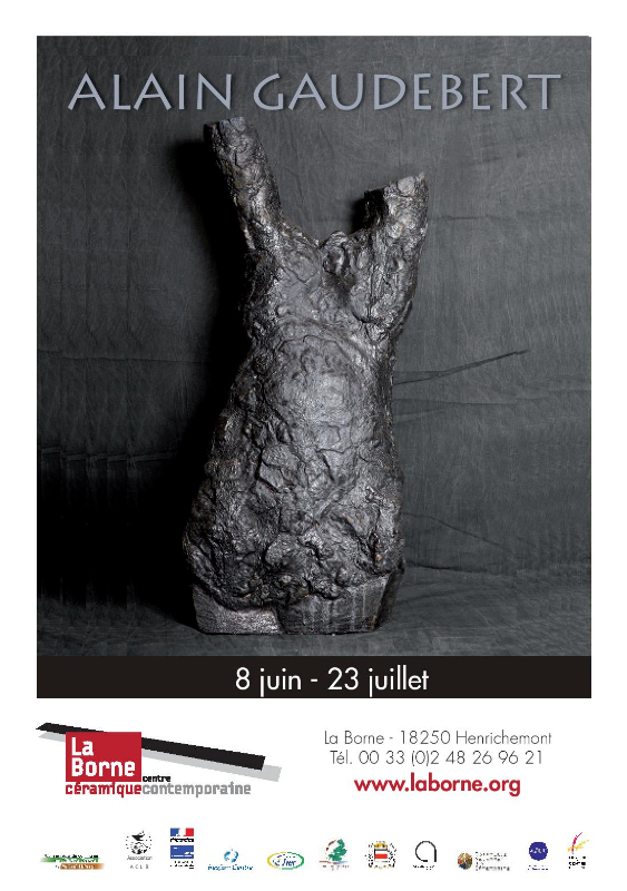 Invitation exposition La Borne, juillet 2013