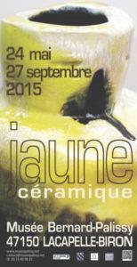 """Exposition """"Jaune céramique"""""""