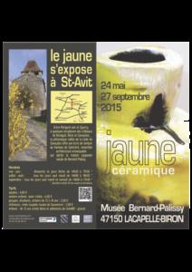"""Exposition thématique """"jaune céramique"""""""