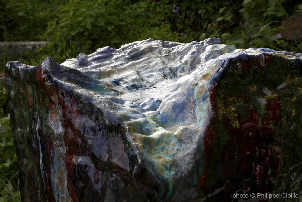 Volume paysage, céramique, mai 2015