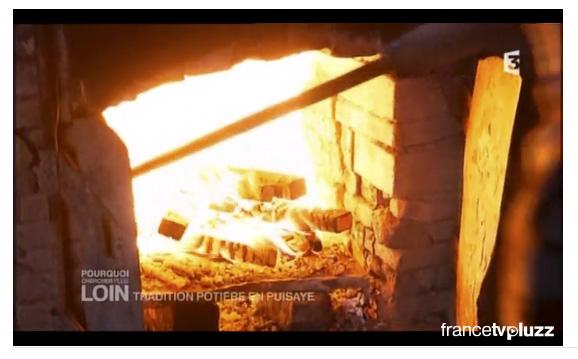 """Image tirée du documentaire """"tradition potière en Puisaye"""", de Mireille Hannond"""