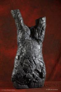 Alain Gaudebert, roche torse