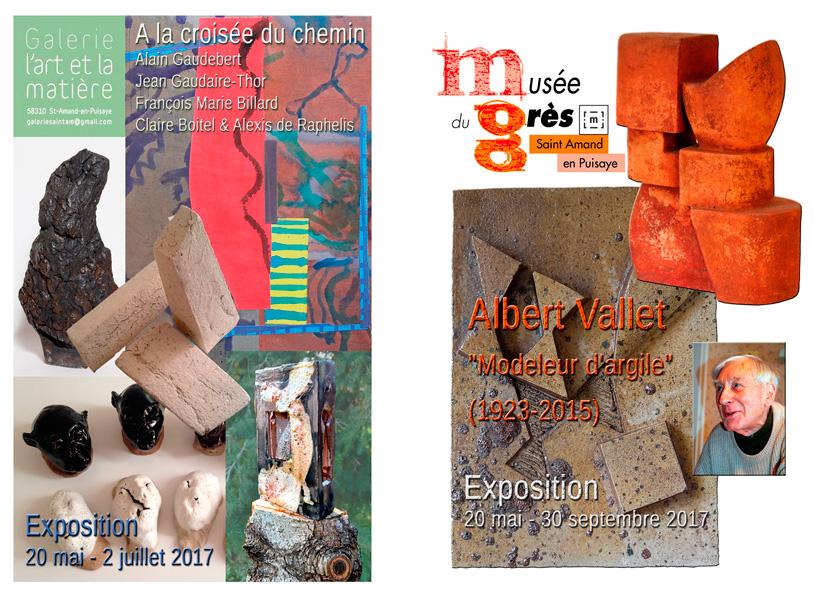 Céramique, Galerie l'Art et la matière