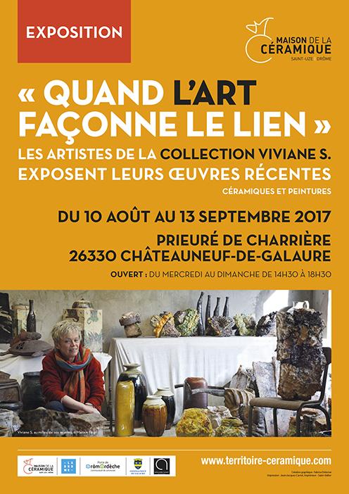 Maison de la céramique, affiche, août 2017