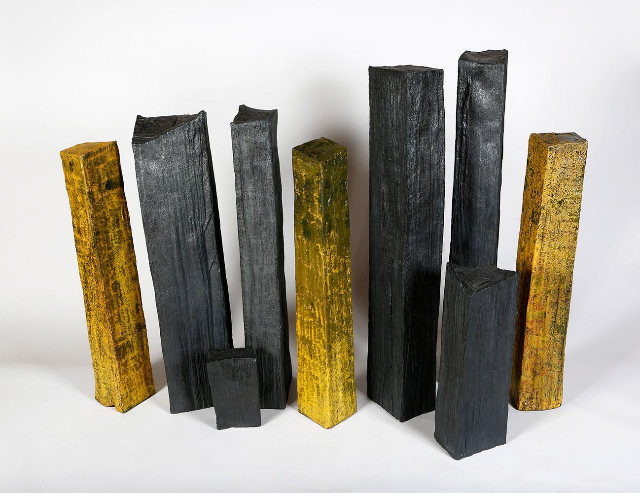 Lignites, noires et jaunes